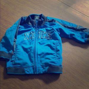 Nike zip up baby jacket
